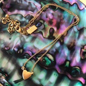 Tiny Heart Necklace Kate Spade